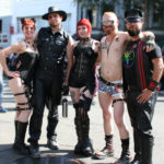 Friends at Folsom Street Fair
