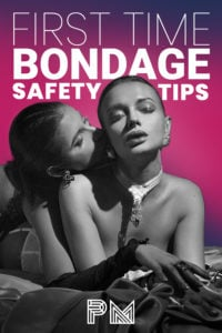 Pinterest pin for First TIme Bondage Safety Tips